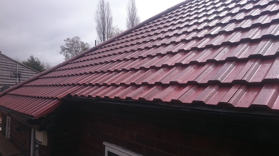 Flute Roofing Dorset Avenue Cheadle Re Roof